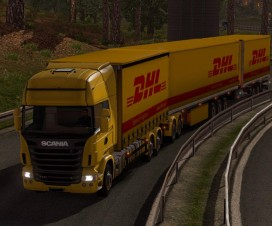 Giant Scania DHL | ETS 2 Mods