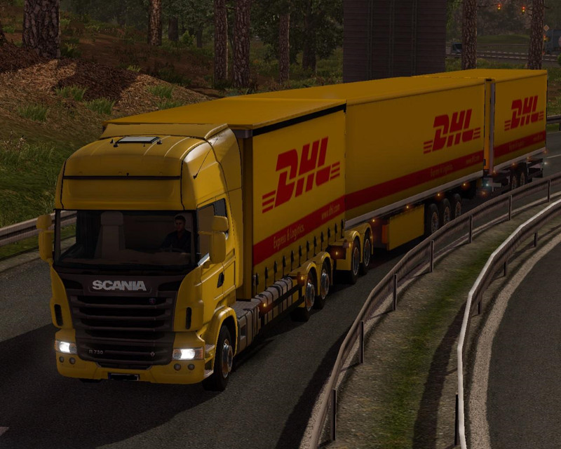 Giant Scania DHL v1.0a