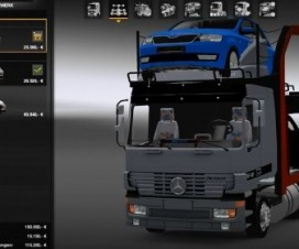 MB Actros MP1 + Interior + Addons   ETS 2 Mods