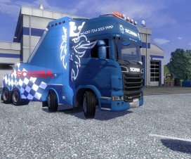 Scania Recovery Truck | ETS 2 Mods