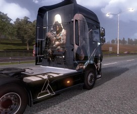 Assassins Creed DAF XF EURO 6 SKIN | ETS 2 Mods