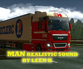 MAN realistic sound L6 and V8 | ETS 2 Mods