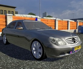 Mercedes-Benz S600 Traffic | ETS 2 Mods