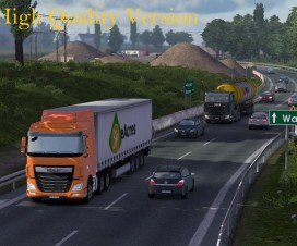 Realistic Lighting v2.1 HD | ETS 2 Mods