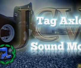 Tag Axle Sound Mod | ETS 2 Mods