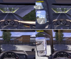 Customized camera FOV | ETS 2 Mods