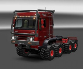 DAF Crawler High Lift | ETS 2 Mods