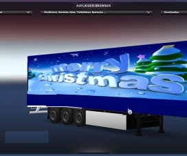 Merry Christmas Trailer | ETS 2 Mods