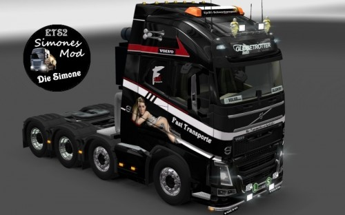 new volvo truck skin fast transport this is a skin for the new volvo ...