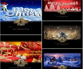 Noel – New Year Pack 2015 | ETS 2 Mods