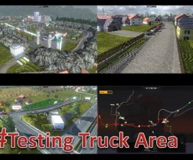 [RO] Testing Truck Area And Little Village V3.0 | ETS 2 Mods