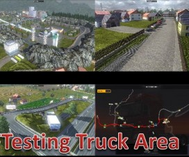 Testing Truck Area And Romanian Village | ETS 2 Mods