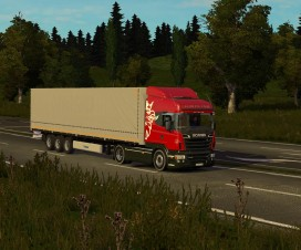 Scania Highline+kronesdp27 Standalone | ETS 2 Mods