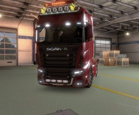 SCANIA R700 Lux | ETS 2 Mods