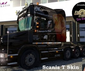 Scania T Skin Fast | ETS 2 Mods