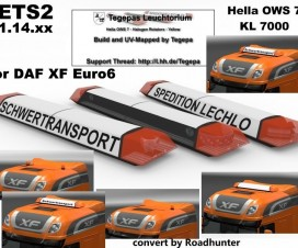 Tegepas Leuchtorium for DAF Euro6 | ETS 2 Mods