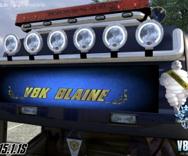 V8K-Blaine Lightbox Patch | ETS 2 Mods