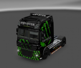 Monster Energy for DAF XF Skin | ETS 2 Mods