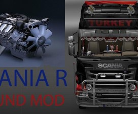 Sounds for Scania R | ETS 2 Mods