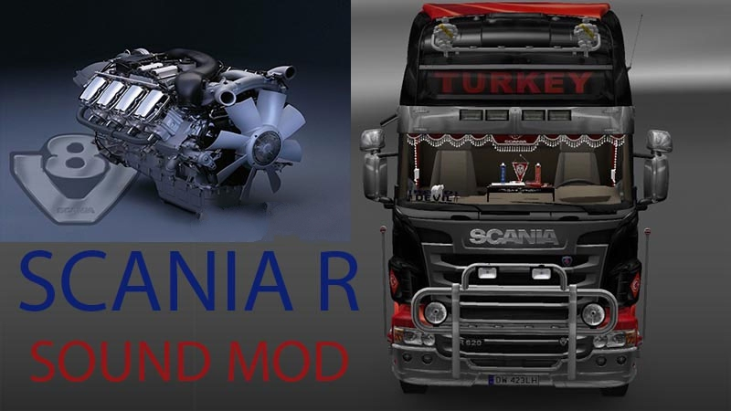 Sounds for Scania R