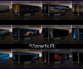 Abstract Trailers Skin Pack | ETS 2 Mods