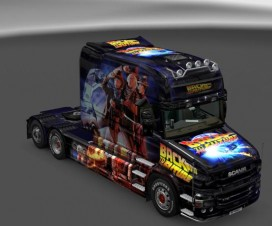 Back To The Future Scania T | ETS 2 Mods