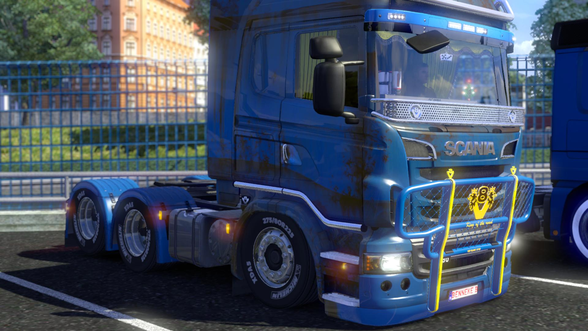 bennekebens air lowrider mod version 1 3 1a supported for ets2 1 14 and higher 8