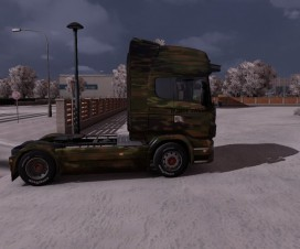 German Army Scania Truck | ETS 2 Mods