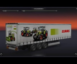 Claas Trailer 1.15 | ETS 2 Mods