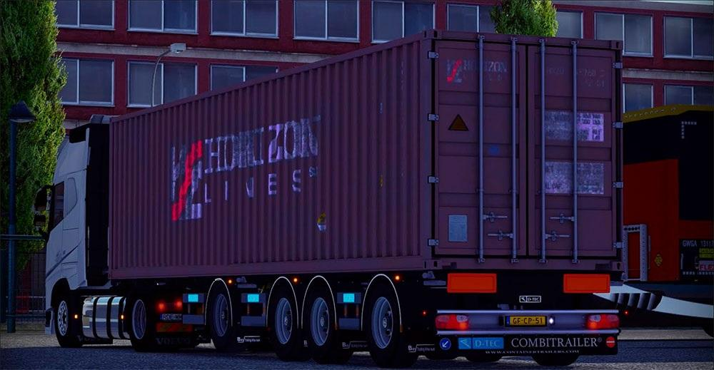 Fix My Car >> Container Trailer [multiplayer mod] | ETS2 Mods
