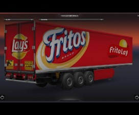 FritoLay Trailer 1.15 | ETS 2 Mods