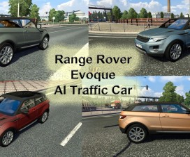 Range Rover Evoque AI Traffic | ETS 2 Mods