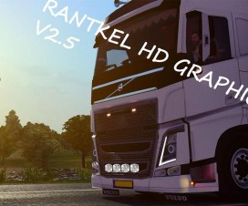 Rantkel HD Graphics v2.5 | ETS 2 Mods