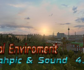 Real Enviroment Graphic Sound Mod | ETS 2 Mods