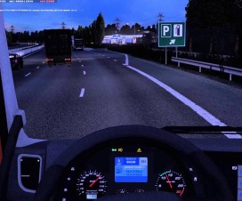 Redesigned the behavior of traffic in the game | ETS 2 Mods