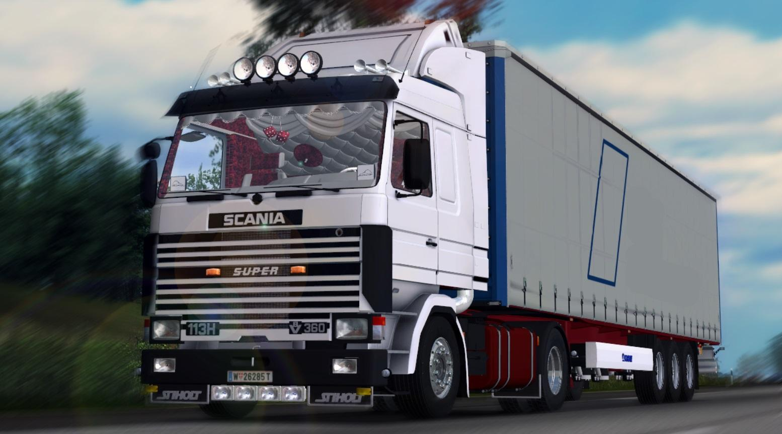 Volvo Truck Parts >> Scania 113H 360 | ETS2 Mods