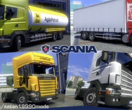 Scania 4 v1.7 | ETS 2 Mods