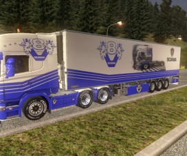Scania R2008 Skin And Trailers | ETS 2 Mods