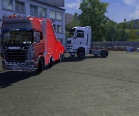 Scania Recovery Truck v2 | ETS 2 Mods