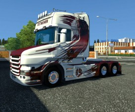 Scania T Willi Wewer | ETS 2 Mods
