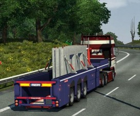 SCS Panel Trailer Replacement | ETS 2 Mods