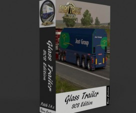 SCS Glass Trailer | ETS 2 Mods