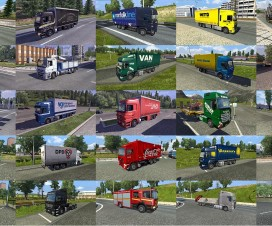 Truck Traffic Pack By Jazzycat v1.7 | ETS 2 Mods