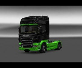 Zi firms skin for Scania R | ETS 2 Mods