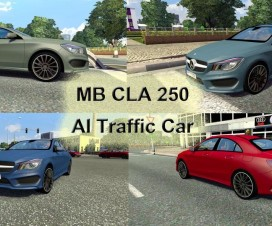 Mercedes Benz CLA 250 traffic | ETS 2 Mods