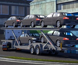 Car Transporter Trailer Skoda Superb | ETS 2 Mods