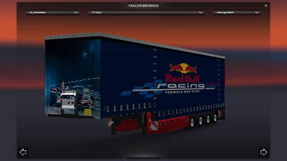 F1 trailer Pack