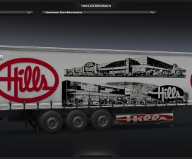 Hills Department Store (trailer) v1 | ETS 2 Mods