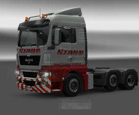Skin for MAN TGX Crane Services | ETS 2 Mods