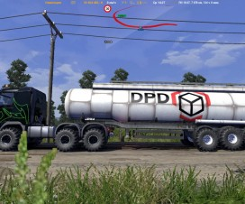 Off-road wheels for trailers default | ETS 2 Mods